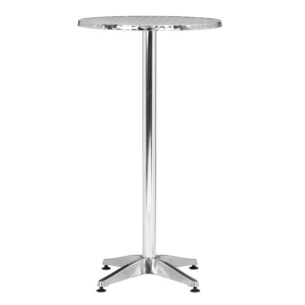 Table de bar Christabel, aluminium