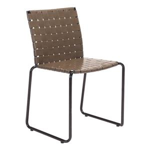 Chaise Beckett, espresso, ensemble de 4