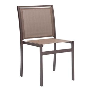 Chaise Mayakoba, brun, ensemble de 2