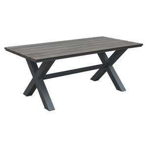 Zuo Modern Bodega Dining Table - Grey and Brown