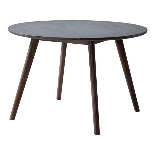 Table à dîner Elite, ciment et naturel
