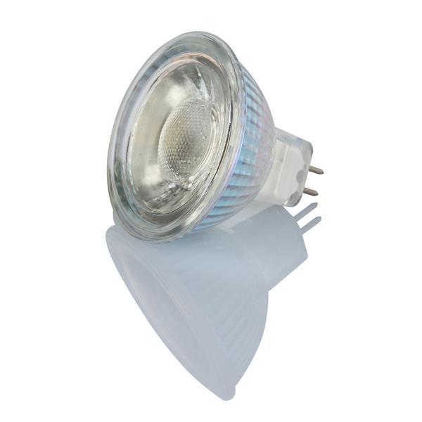 TorontoLed Glass LED COB MR16 Bulb - 10 PK - Clear
