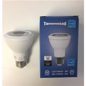 Ampoule à DEL, 5 pqt, blanc