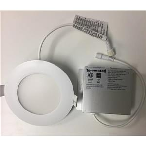 TorontoLed Downlight - 4-in - White