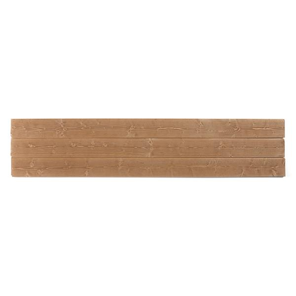 "Planches décoratives ""Vintage Buckeye"", brun"