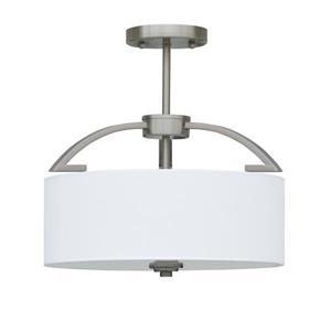 Semi-plafonnier à 3 lumières
