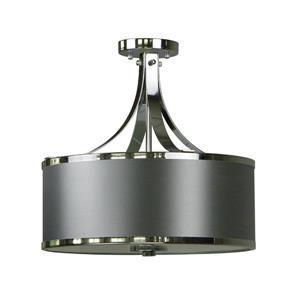 Semi-Flush Mount Light - 3 Lights
