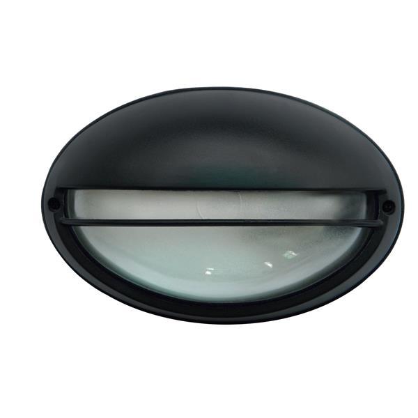 Luminaire extérieur Whitfield à 1 lumière, noir
