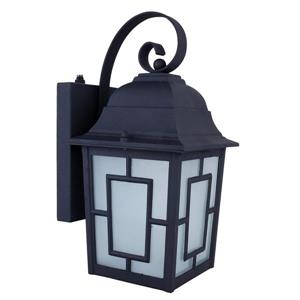 Whitfield Lighting Kana Outdoor Wall Mount Light - 1 LED Light - Black