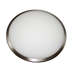 Plafonnier Whitfield à 2 lumières, 3,75 po x 12 po, verre opaque
