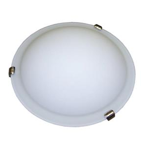 Whitfield Lighting Standard Flush Mount Light - 3 Lights - 5-in x 16-in - Satin Nickel