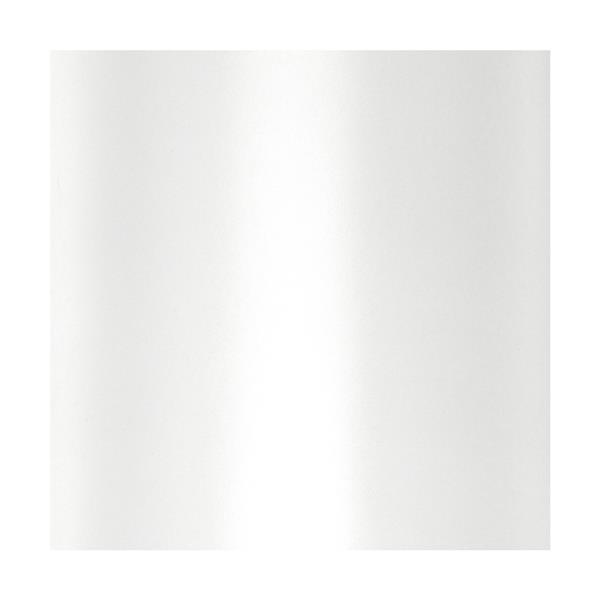 "Luminaire suspendu à 1 lumière Modena, 8"", chrome/blanc"