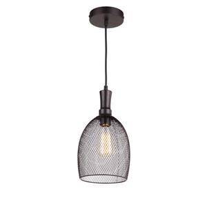 Luminaire suspendu à 1 lumière Alec de Whitfield, 12,2 po,bronze industriel