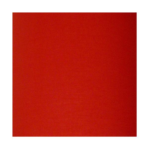 """Lustre à 5 lumières avec abat-jour, 20"""" x 22"""", chrome/rouge"""