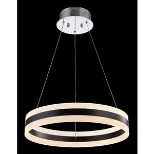 Whitfield Lighting Rasine LED Chandelier - 3.5-in x 19.6-in - Chrome