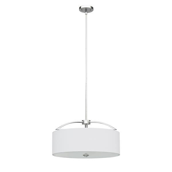 Luminaire suspendu Rainn de Whitfield, 4 lumières, 11,8 po, chrome
