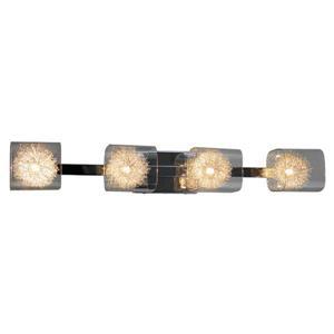 Whitfield Lighting Bathroom Vanity Light - 4 Lights - 4.75-in x 33-in - Chrome