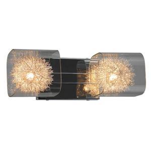 Whitfield Lighting Bathroom Vanity Light - 2 Lights - 4.75-in x 14-in - Chrome