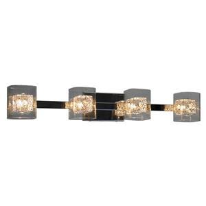 Whitfield Lighting Bathroom Vanity Light - 4 Lights - 4.75-in x 32.3-in - Chrome