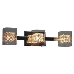 Whitfield Lighting Bathroom Vanity Light - 3 Lights - 22.9-in - Polished Chrome