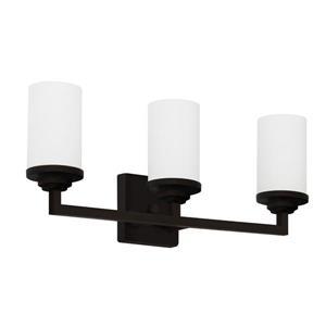 Luminaire de salle de bain à 3 lumières