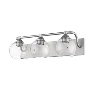 Whitfield Lighting Vanity Light - 3 Lights - 23-in - Satin Nickel
