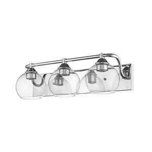 Whitfield Lighting Vanity Light - 3 Lights - 23-in - Chrome
