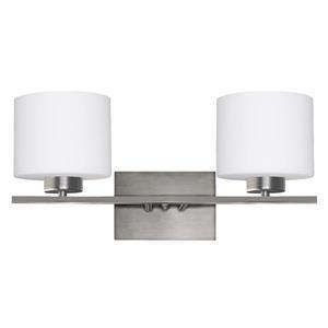 Luminaire de salle de bain à 2 lumières