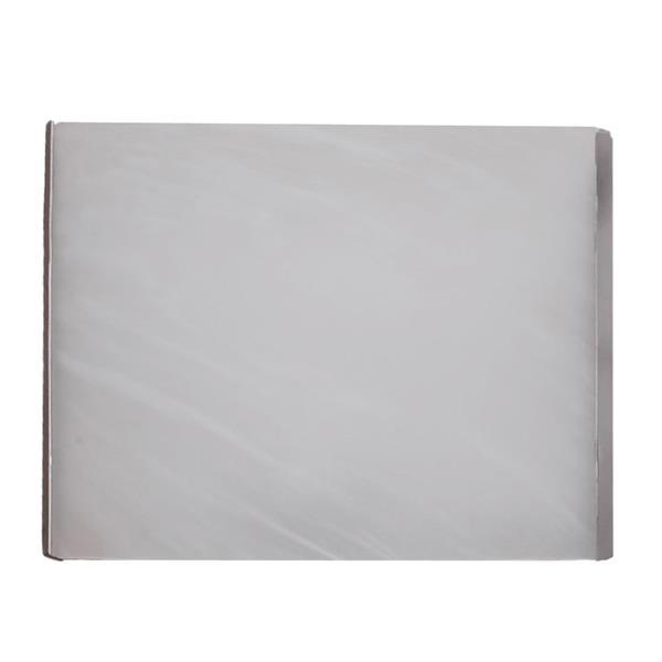 """Applique murale DEL à 1lumière, 8"""" x 6"""", verre albâtre, blanc"""