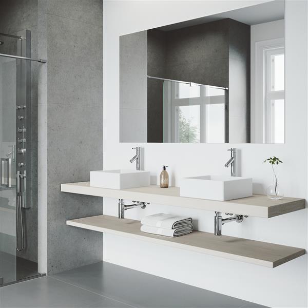 Robinet pour vasque de salle de bain Dior, chrome