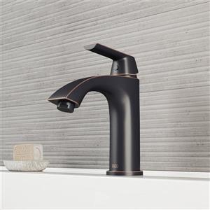 Robinet de salle de bain monotrou Penela, bronze antique