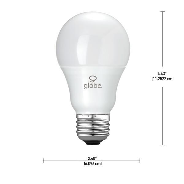 Ampoules LED for Life A19, 60W, paquet de 6