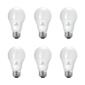 Equivalent Daylight A19 LED Light Bulb - 60W - Pack of 6