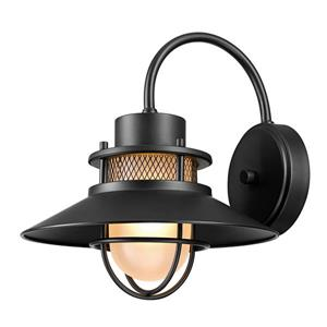"""Globe Electric Liam Wall Sconce - 11"""" - Metal - Bronze"""
