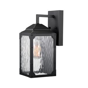 "Globe Electric Miller Wall Sconce - 13"" - Metal - Black"