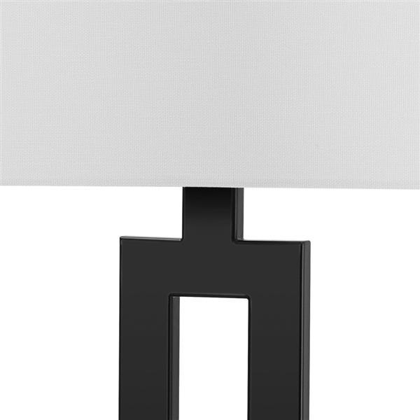Globe Electric D Alessio Table Lamp 20 Metal Black 67045 Rona