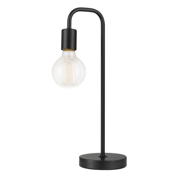 "Lampe de table Holden, 18"", métal, noir"