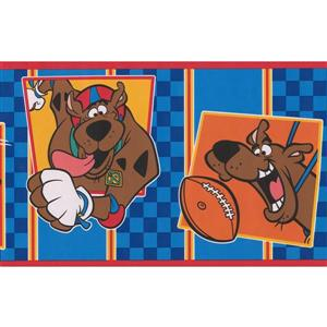 "Retro Art Wallpaper Border - 15' x 6.75"" - Scooby-Doo - Multicolour"