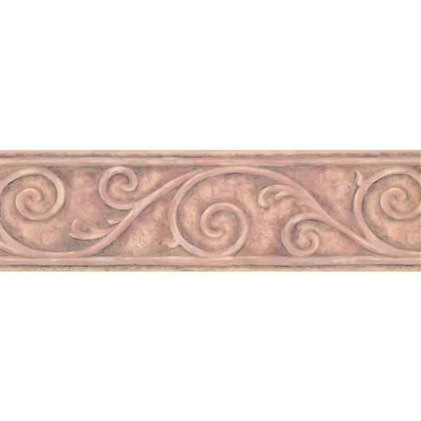 York Wallcoverings Wallpaper Border - 15-ft x 6.75-in - Wrought Iron Design