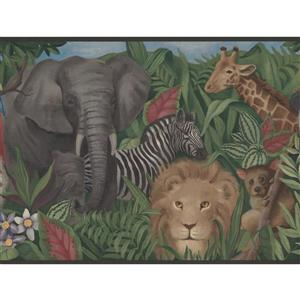 York Wallcoverings Wallpaper Border - 15-ft x 10.25-in - Animals in the Forest
