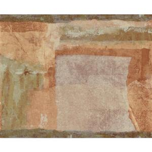 "Chesapeake Wallpaper Border -15' x 8"" - Abstract Design - Multicolour"