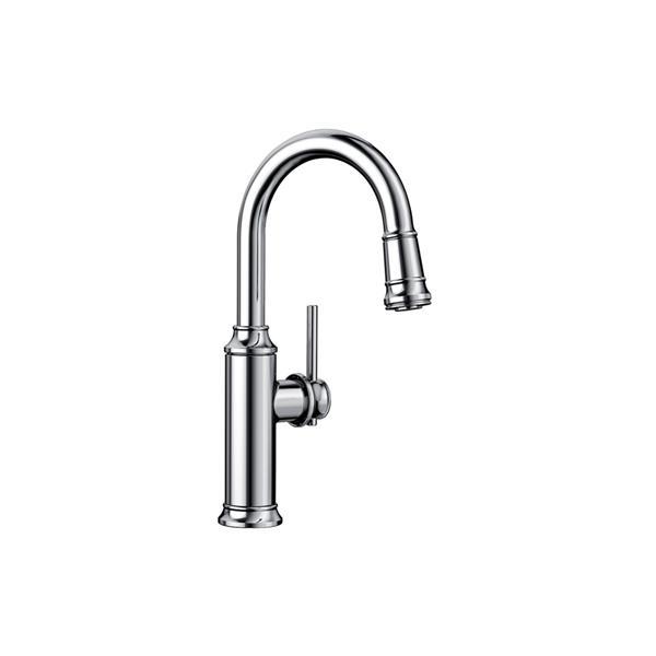 Empressa Pull-Down Faucet - Chrome