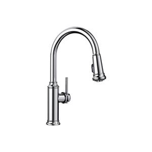 Empressa Pull-Down Kitchen Faucet - Chrome