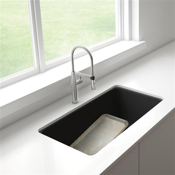 Blanco Precis Low Divide Undermount Sink - White 402065 | RONA