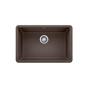 Precis Single Undermount Sink - Café