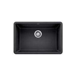 Blanco Precis Single Undermount Sink - Black