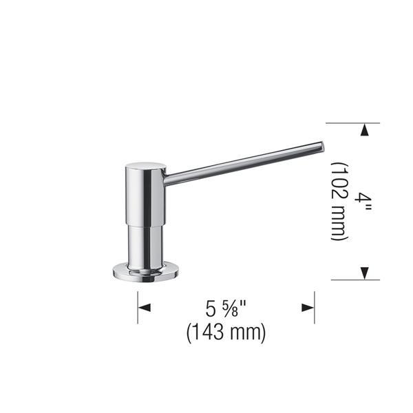 Torre Soap Dispenser - Grey