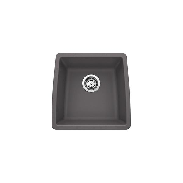 Blanco Performa Undermount Sink - Ash - 17-in