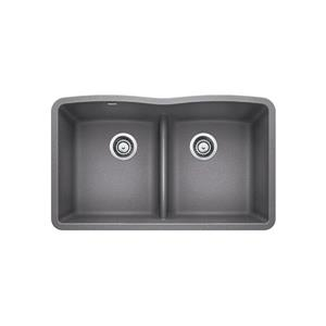 Diamond Low Divide Sink - Grey