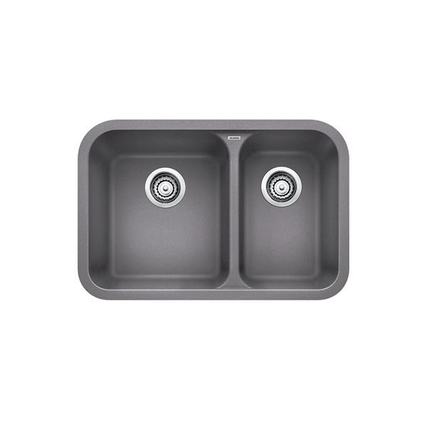 Blanco Vision Undermount Sink - Grey - 27-in